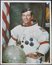 Apollo 16 Commander John Young Signed Vintage WSS NASA Lithograph Authentic