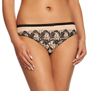 Charnos-Eva-Art-Deco-20-039-s-Low-rise-Hipster-Briefs-Panties-Nude-10-12-14-16-18