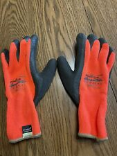 New Listingpip 414 1400 Powergrab Thermo Insulated Cold Winter Safety Work Gloves Orange L