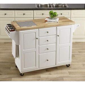 new white kitchen island with granite insert drawers spice