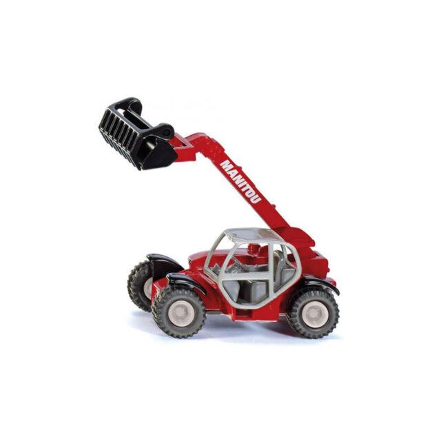 SIKU 1482 Manitou Télescopique Maquette de voiture rouge (boursouflure)  NOUVEAU 6c80e9171e14