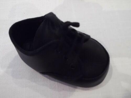 Poupées Chaussures en noir ou beige à lacets Style Oxford
