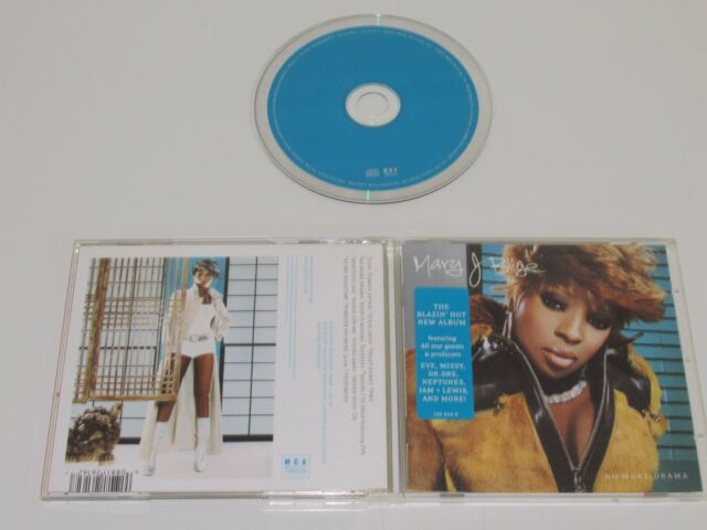 Mary J. Blige / No More Drama (MCA 112-616-2) CD Álbum
