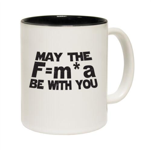 Funny Mugs May The Force Be With You Geek Geeky NOVELTY MUG secret santa