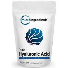 30g Premium Pure Hyaluronic Acid Powder for Health Joint Making Anti Aging Serum