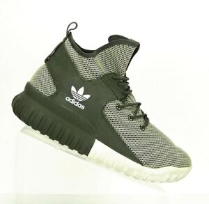 best service 7eff7 5faeb Image is loading ADIDAS-Mens-Size-8-5-OLIVE-GREEN-ORIGINALS-