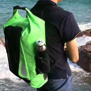 Outdoor Dry Backpack Bag Rucksack Pack Waterproof 25L Large Canoe Storage Raft
