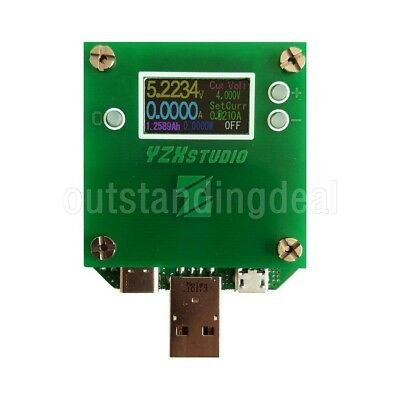 2018 USB Load Tester YZXStudio ZL1100  PD3.0 PPS QC2.0 3.0 0-3A QC MTK FCP