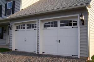 Craftsman Solid Paint Grade Wood Garage, How Much Is A 16 X 8 Garage Door