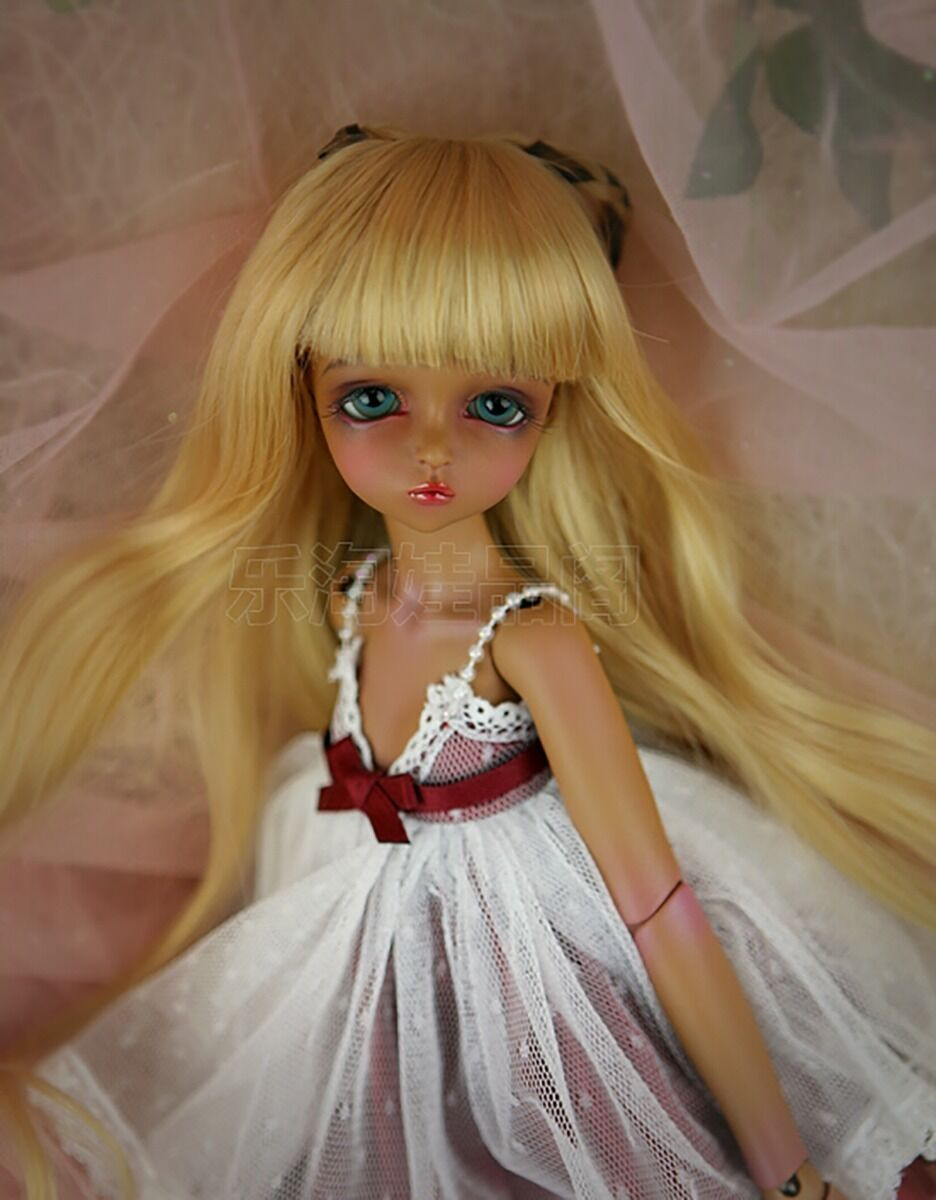 1 4 BJD Doll SD Doll Girl Leeke Mikhaila -Free Face Make UP+Free Eyes-Tan Farbe