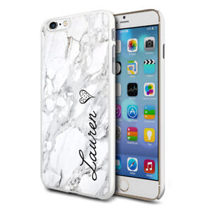 info for 981be 5183b Details about Personalised Marble Phone Case Cover for Apple Samsung  Initial Text Name - 06