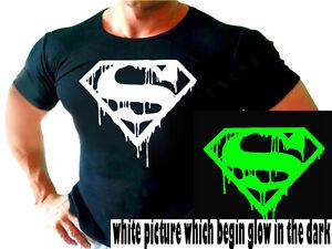 SUPERMAN BATMAN bodybuilding FUNNY workout tshirt gym T Shirt ...