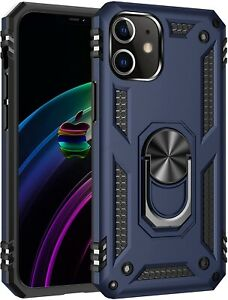 For-iPhone-12-mini-Pro-Max-Dual-Layer-Armor-Case-Ring-Finger-Kickstand-Cover