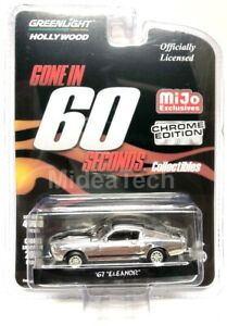 Greenlight-1-64-Eleanor-1967-Ford-Mustang-034-Gone-in-60-Second-034-Chrome-Chase-51227