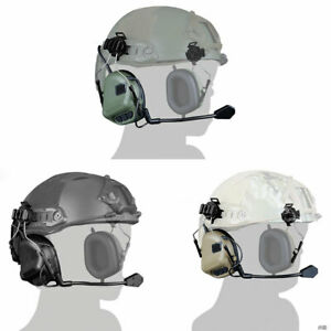 WoSporT-Hunting-Tactical-Airsoft-Paintball-Communication-Helmet-Headset-2-usage