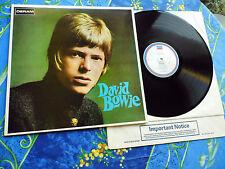 DAVID BOWIE ♫ SAME Neuwertig! UK DOA1 82 RI ♫ RARE TOP DERAM RECORDS #1A
