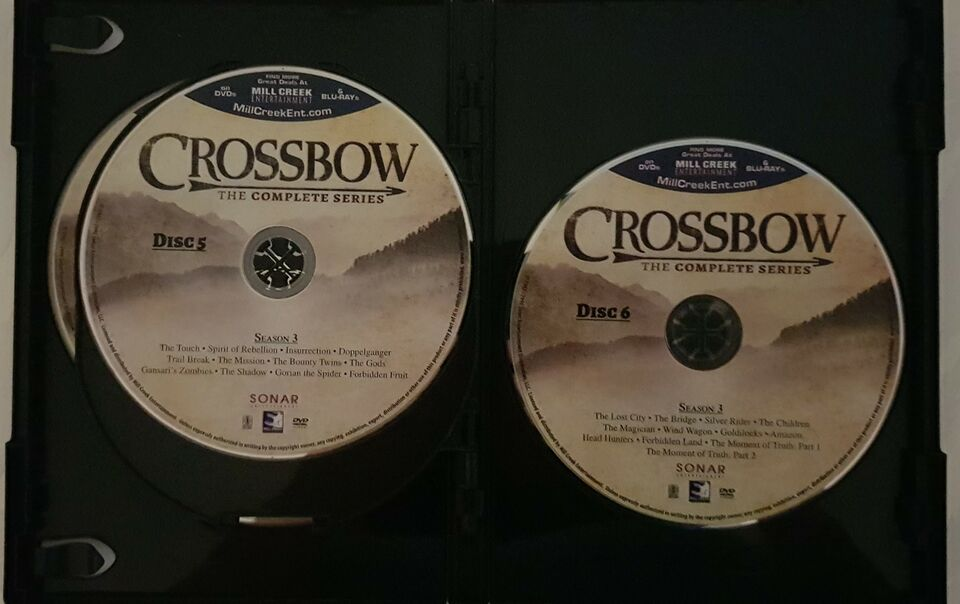 Crossbow: The Legend of William Tell, DVD, TV-serier