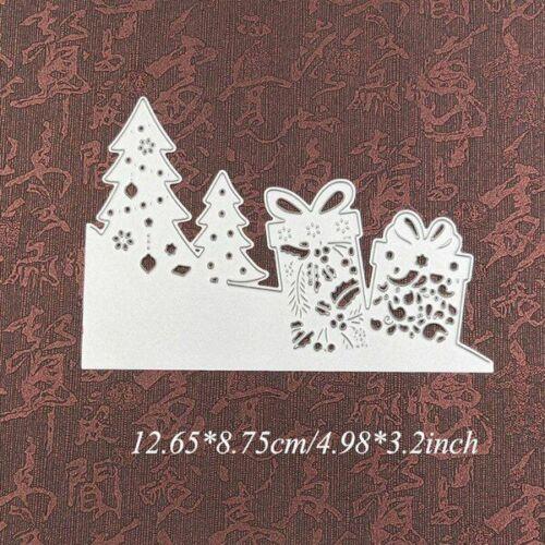 Cutting Dies Christmas Santa Snowflake Tree Die Deer Metal Paper Craft DIY Cards