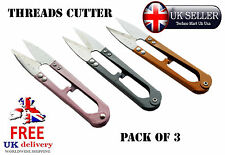 3 x pcs Thread sewing scissors tailor snipper fishing cord string cutter @ UK