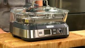 CUISINART - STM-1000 - Cook Fresh Digital Glass Steamer - Refurbished by CUISINART - 6 Month OPENBOX Warranty Calgary Alberta Preview