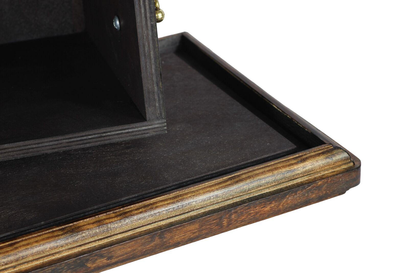 Beagle Beagle Beagle - wooden urn for dog's ashes, low model, Art Dog e5cf5d