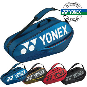 Available in 3 colours Yonex 42026 Team 6 Racket Bag