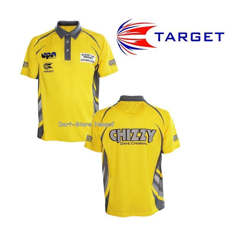 Dart Shirt Trikot DAVE CHISNALL  Chizzy  Target Target Target 2017 5d49fd