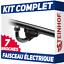 Peugeot-307-Break-SW-02-05-Attelage-fixe-faisceau-7-broches miniature 1