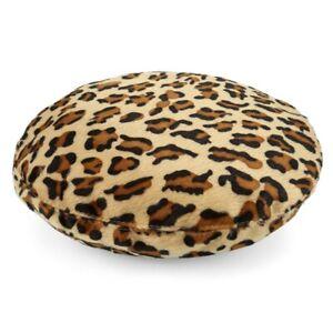 Women-Beret-Hat-Sweet-Warm-Winter-Wool-French-Style-Leopard-Beanie-Ski-Cap-Hat