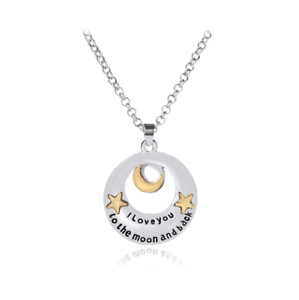 Sterling-Silver-I-Love-You-To-The-Moon-And-Back-Vintage-Heart-Pendant-Necklace