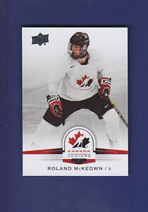 Roland-McKeown-SP-2014-15-UD-Hockey-Team-Canada-Juniors-134
