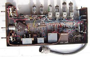 Instrument-avion-element-de-radio-annees-50