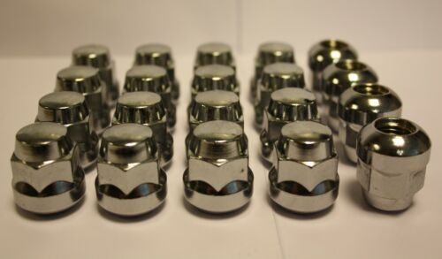20 X M12 X 1.5 STANDARD REPLACEMENT ALLOY WHEEL NUTS FIT HONDA INTEGRA TYPE R