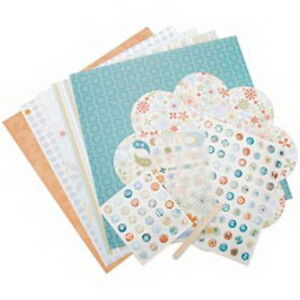 Autumn-Leaves-Scrapbooking-Page-Kit-Set-Paper-Stickers-Alphabet-RubOns-Ideas