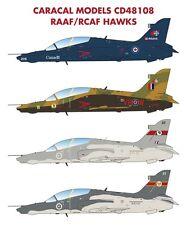 Caracal Models 1/48 Canadian & Australian Hawks # 48108