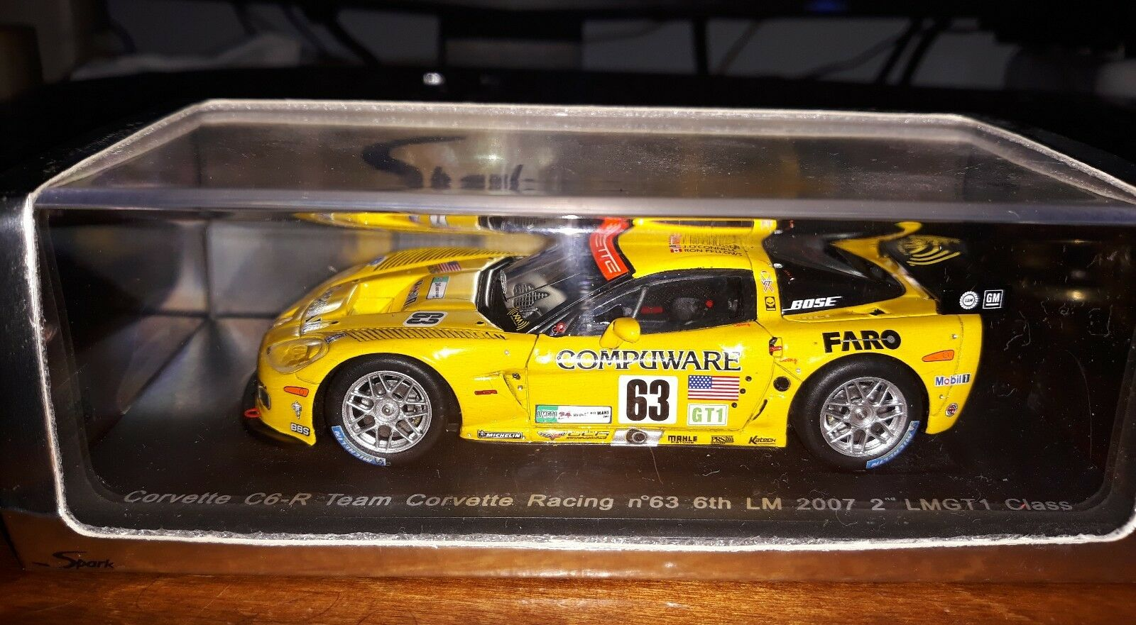 Spark 1 43 Corvette C6R  63 Le Mans 2007 S0178