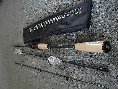 Superb Modern Abu Vendetta Lure spinning bait casting rod Pike Bass 6,7,8,910ft