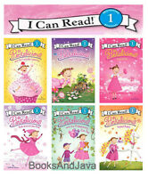 I Can Read L1 Pinkalicious 6 Books Puptastic,fairy House,cupcake, Zoo Day +