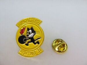 Pin's Pins Pin Badge - US ARMY - TOMCATTERS FIGHTING 31 - VFA31 - AIR FORCE -
