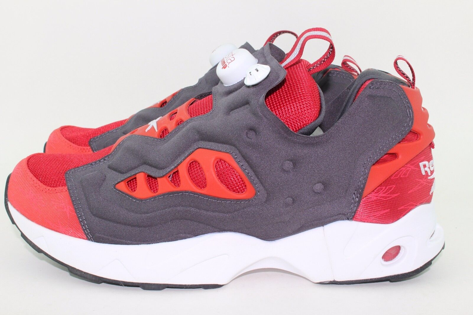 REEBOK INSTAPUMP FURY ROAD MEN SIZE 13.0 FLASH RED SUPER NEW AUTHENTIC SUPER RED RARE 6b718a