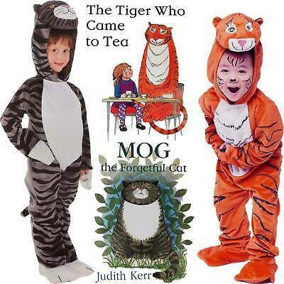 or play halloween Mog the Forgetful Cat Costume 3,4,5 years  for book week