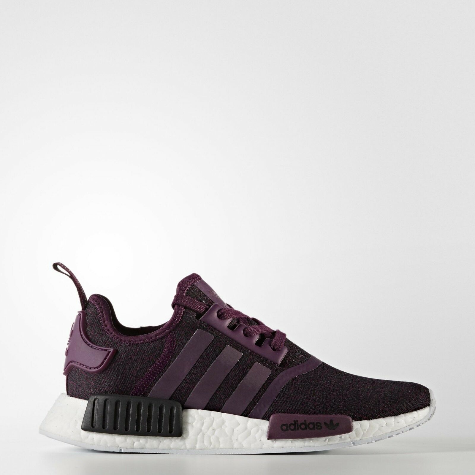 new style 24ad4 2a502 Adidas NMD R1 Purple Maroon Europe Women s Size 9.5 9.5 9.5 d14915