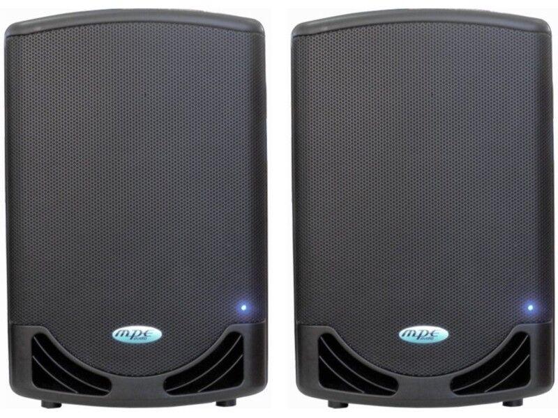Loudspeakers active Professional Bi Amped Active 2000 Watt MPE audio