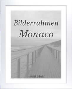 Bilderrahmen Monaco 22x42 cm Foto Poster Puzzle Galerie 42x22 cm