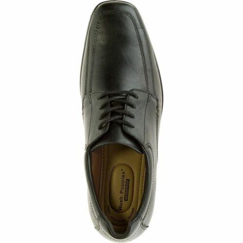 H102826 Quatro Heren zwart schoen lederen Hush Puppies Oxford wPuTlOZiXk