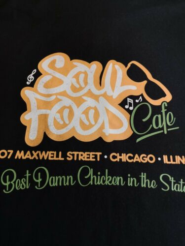 Blues Brothers Inspired Soul Food T-shirt staring Aretha Franklin 80/'s Music