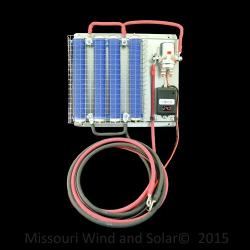 24 Volt Digital Charge Controller with 1200 Watt Dump Load for Wind /& Solar