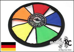 Soft-Flying-Disc-Wurfscheibe-GUNTHER-1381-Flugscheibe-Frisbee-molinoRC