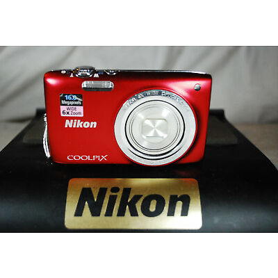 EXCELLENT Nikon CoolPix S2700 16MP appareil photo numérique - choix de couleurs