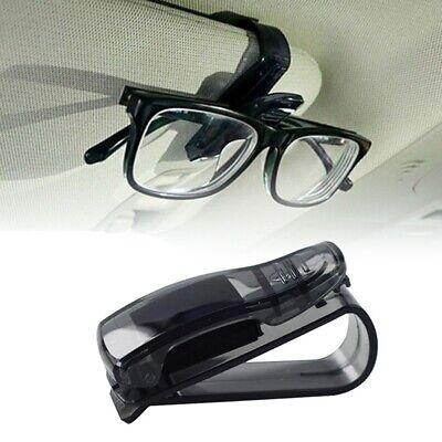 Car Auto Sun Visor Glasses Sunglasses Card Ticket Holder Central Console Clip G
